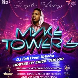 Image for Myke tower live