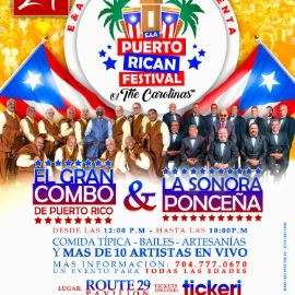 Image for E&A Puerto Rican Festival of the Carolinas TM Featuring El Gran Combo, La Sonora Ponceña and many more!