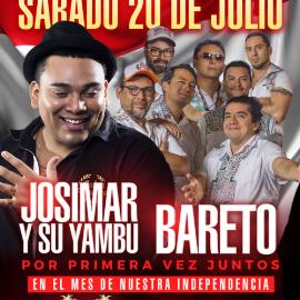 Image for Josimar y su Yambu Y Bareto en La Noche VIP del Festival Peruano De Miami