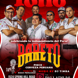Image for Celebrando la Independecia de Peru con Bareto en Vivo
