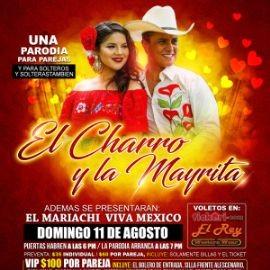 Image for El Charro Y La Mayrita Con El Mariachi Viva Mexico En Antioch,TN