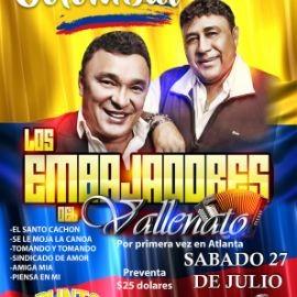Image for LOS EMBAJADORES VALLENATOS EN ATLANTA
