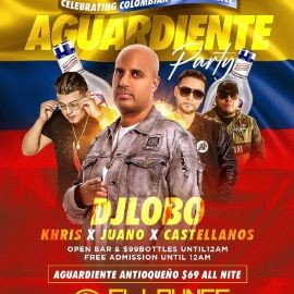 Image for Colombian Independence Aguardiente Party At SL Lounge