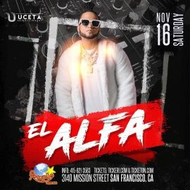 Image for El Alfa En Concierto En San Francisco,CA
