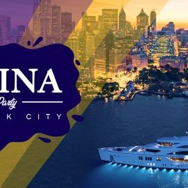 Image for Latin Boat Party NYC Skyline on the Infinity