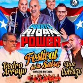Image for FESTIVAL SALSERO!! Con Puerto Rican Power, Pedro Arroyo & Yan Collazo !!