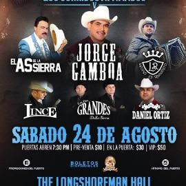 Image for El As de la Sierra,Jorge Gamboa y Mas En Concierto En Wilmington,CA