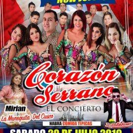 Image for CORAZON SERRANO -  HOY . EN NEW JERSEY SABADO 20 JULIO