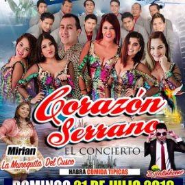 Image for CORAZON SERRANO  EN NEW YORK  DOMINGO 21 JULIO AMAZURA