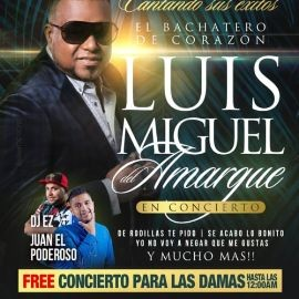 Image for Luis Miguel del Amargue en Concierto En Woodbridge,VA