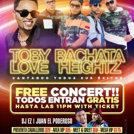 Image for Toby Love & Bachata Heightz En Concierto En Woodbridge,VA