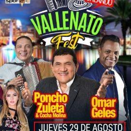 "Image for Poncho Zuleta vs Omar Geles vs Daniel Calderon con los gigantes""vallenato fest"" en Senor Frogs Orlando"