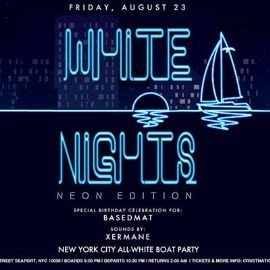 Image for All White Affair - White Nights NEON EDITION Boat Party - Yacht Cruise NYC