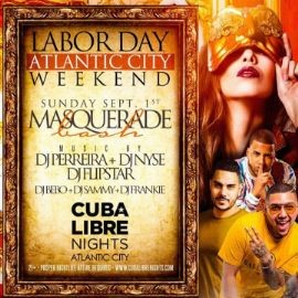 Image for Labor Day Weekend 2019 Masquerade Bash At Cuba Libre