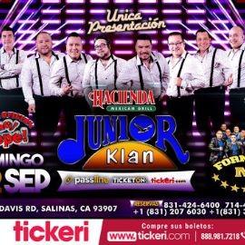 Image for Junior Klan En Concierto En Salinas,CA