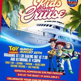 Image for Kids Party Cruise Hosted By Toy Friends (1:30pm-4:30pm)