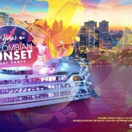 Image for Yeras Colombian Sunset Cruise on the Mega Yacht Infinity - Boat Party NYC