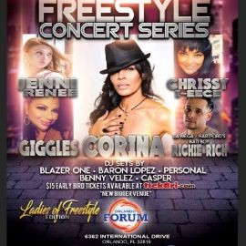 "Image for Freestyle Concert Series ft Corina, Chrissy I-eece, Giggles and Bad Boy ""Richie Rich"