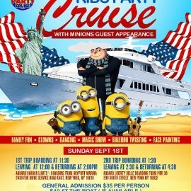 Image for Labor Day Minions Kids Party Cruise (1:30pm-4:30pm)