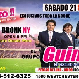 Image for El Gran Tonazo Peruano con El Grupo Guinda En Bronx, NY