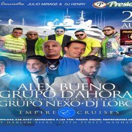 Image for ALEX BUENO, EL GRUPO DE AHORA, GRUPO NEXO PARA BOLETOS VIP 646.228.8987