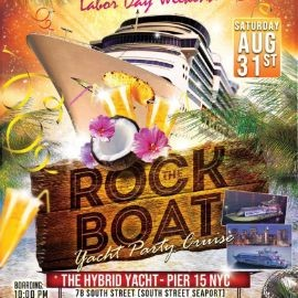 Image for Labor Day Weekend Rock The Boat Cruise At Hybrid Yacht