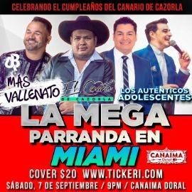 Image for La Mega Parranda En Miami,FL