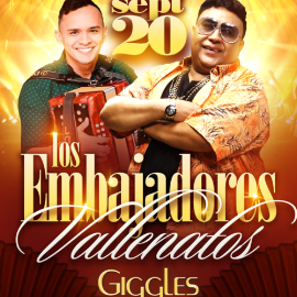 Image for LOS EMBAJADORES VALLENATOS EN LOS ANGELES