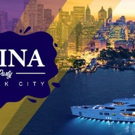 Image for LATINA BOAT PARTY CRUISE,  VIEWS  OF STATUE OF LIBERTY,Cockctails & Music