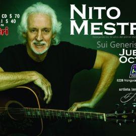 Image for NITO MESTRE en concierto festejando 50 Años de Sui Generis