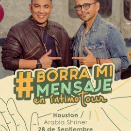 Image for Felipe Pelaez & Jorge Luis Chacin borra mi mensaje tour EN INTIMO