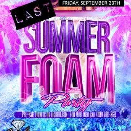 Image for Last Summer Foam Party in Raleigh,NC
