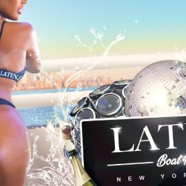 Image for Latin Boat Party New York City Skyline