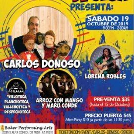 Image for Carlos Donoso,Lorena Robles y Mas En Mesa,AZ
