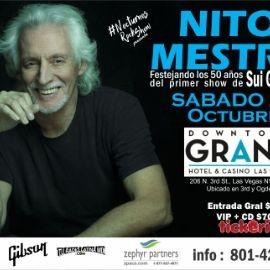 Image for NITO MESTRE En LAS VEGAS Por Primera Vez - Celebrando 50 Años de Sui Generis