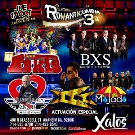 Image for Romanticumbia 3 Con Los Askis, BXS Bryndis x Siempre,ICC, Grupo Mojado y Mas En Anaheim,CA
