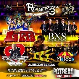 Image for Romanticumbia 3 Con Los Askis, BXS Bryndis x Siempre, ICC y Mas En Cudahy, CA