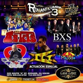 Image for Romanticumbia 3 Con Los Askis, BXS Bryndis x Siempre,Grupo ICC, Grupo Mojado y Mas Oxanard,CA