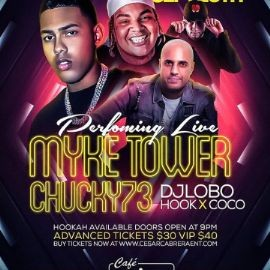 Image for Myke Towers & Chucky 73 Live With DJ Lobo at Cafe Imperial