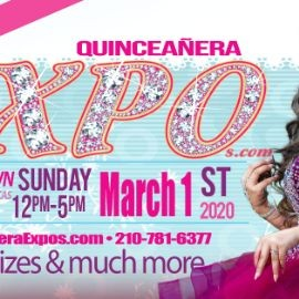 Image for Houston Quinceanera Expo 03-01-2020 at George R. Brown Tickets At The Door $ 9.99 Dollars