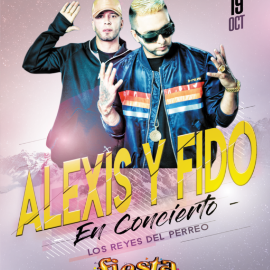 Image for Alexis Y Fido Live At Fiesta Nightclub