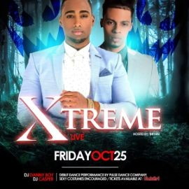 Image for Sexy Halloween Bachata Bash ft. Xtreme Reunion Tour