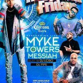 Image for MYKE TOWERS & MESSIAH LIVE AT LA BOOM FRIDAY SEP 20TH | REGGAETON FRIDAY