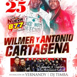 Image for Wilmer y Antonio Cartagena