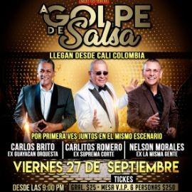 Image for A Golpe Salsa Carlos Brito,Carlitos Romero y Nelson Morales En Duluth,GA
