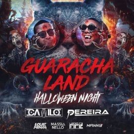 Image for Guaracha Land Halloween Night DJ Camilo Live At Melrose Ballroom