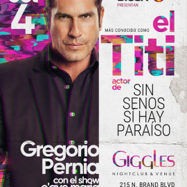 "Image for GREGORIO PERNIA ""EL TITI"" EN LOS ANGELES"