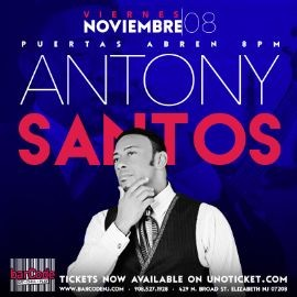 Image for Antony Santos Performing Live @barCode