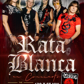 Image for RATA BLANCA EN WASHINGTON DC