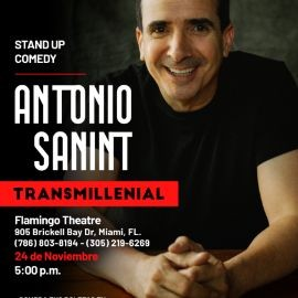 "Image for Antonio Sanint stand-up comedy ""Transmillenial"" - Miami 02 de octubre"
